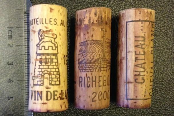 拉图、DRC李奇堡、白马的酒塞,图片来源:康帝老师