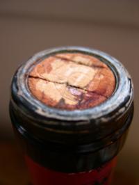 一款轻度漏液的葡萄酒