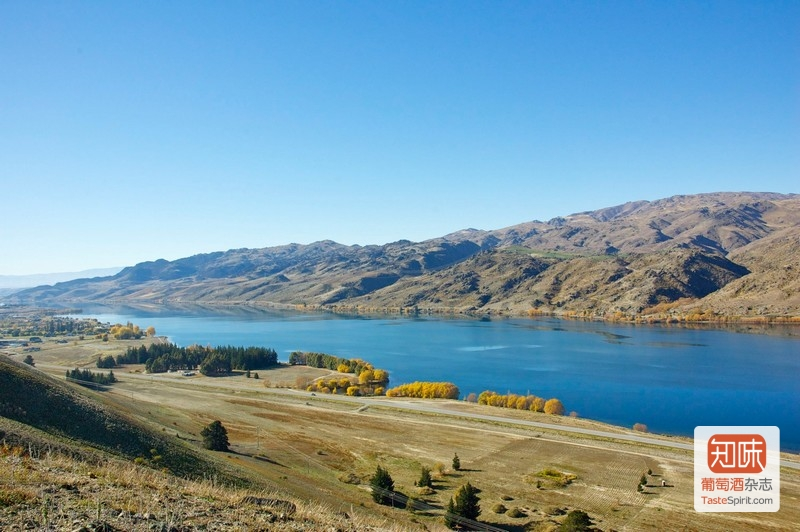 有如蓝眸少女的凝视的Dunstan湖,来源:Misha's Vineyard