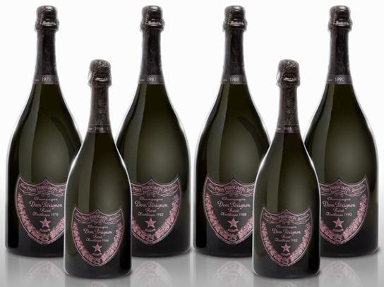 唐培里侬 Dom Pérignon的几款年份玫瑰香槟