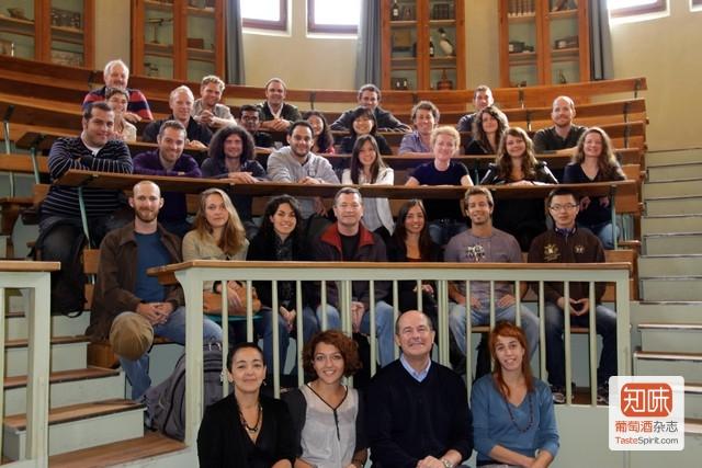 葡萄酒欧洲硕士 Vinifera EuroMaster项目的学生和教师