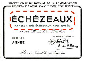 罗曼尼康帝酒庄的依瑟索特级园葡萄酒,注意他就没写Grand Cru