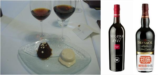 甜品与配酒,图片来源:知味葡萄酒杂志 / 施晔