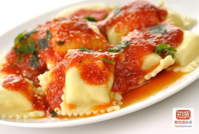 """意大利的""""饺子""""意面 ravioli通常都是吃新鲜的,来源:joyofkosher.com"""