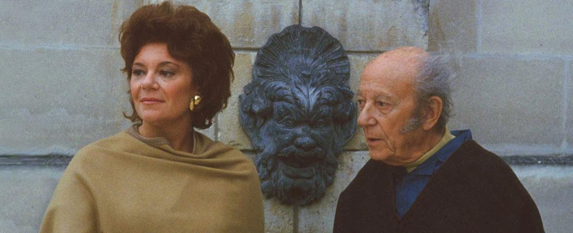 菲利萍·德罗斯柴尔德女爵与她父亲,菲利普·德罗斯柴尔德男爵。两人都曾是葡萄酒世界最富传奇色彩的人物。