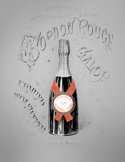 最初戴红色丝绸绶带的玛姆香槟,来源:Mumm