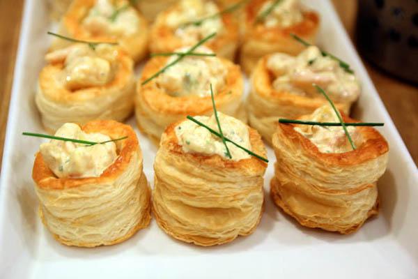 酥饼,vol-au-vent,一种中间可以填入各种馅料的法式点心。图片来源:danielfooddiary