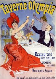 CHERET设计的玛姆香槟海报