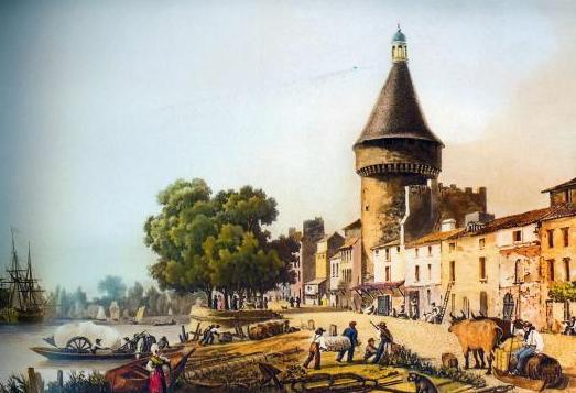 18世纪的里布内港