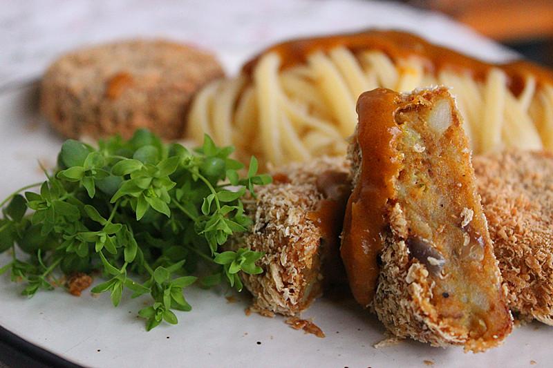 咖喱金枪鱼饼意面,图片来源:巴巴