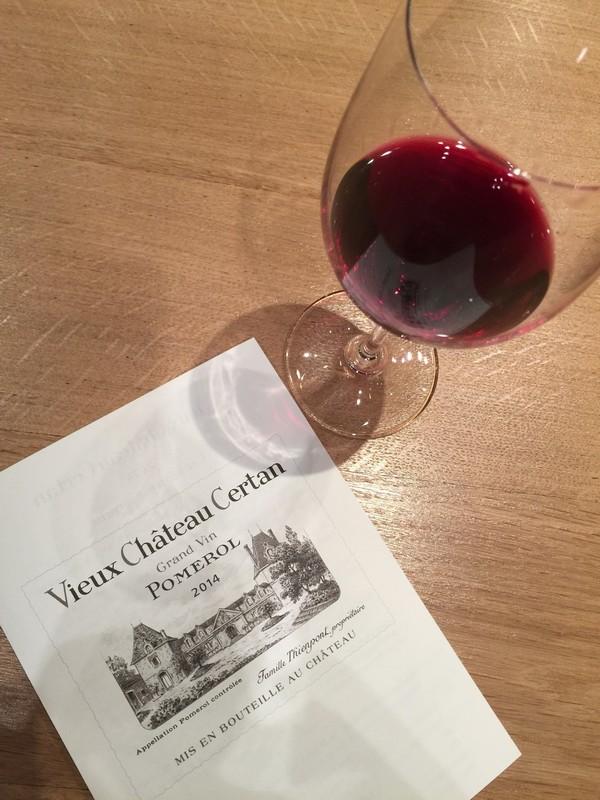 波美侯产区内品丽珠占比较大的老色丹酒庄Vieux Château Certan,照片:凌子/知味葡萄酒杂志