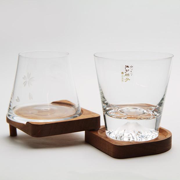 江戸硝子 富士杯