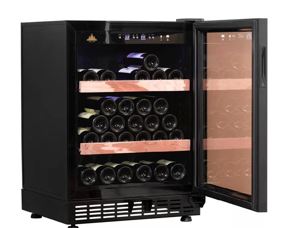 选择小型葡萄酒柜储藏葡萄酒