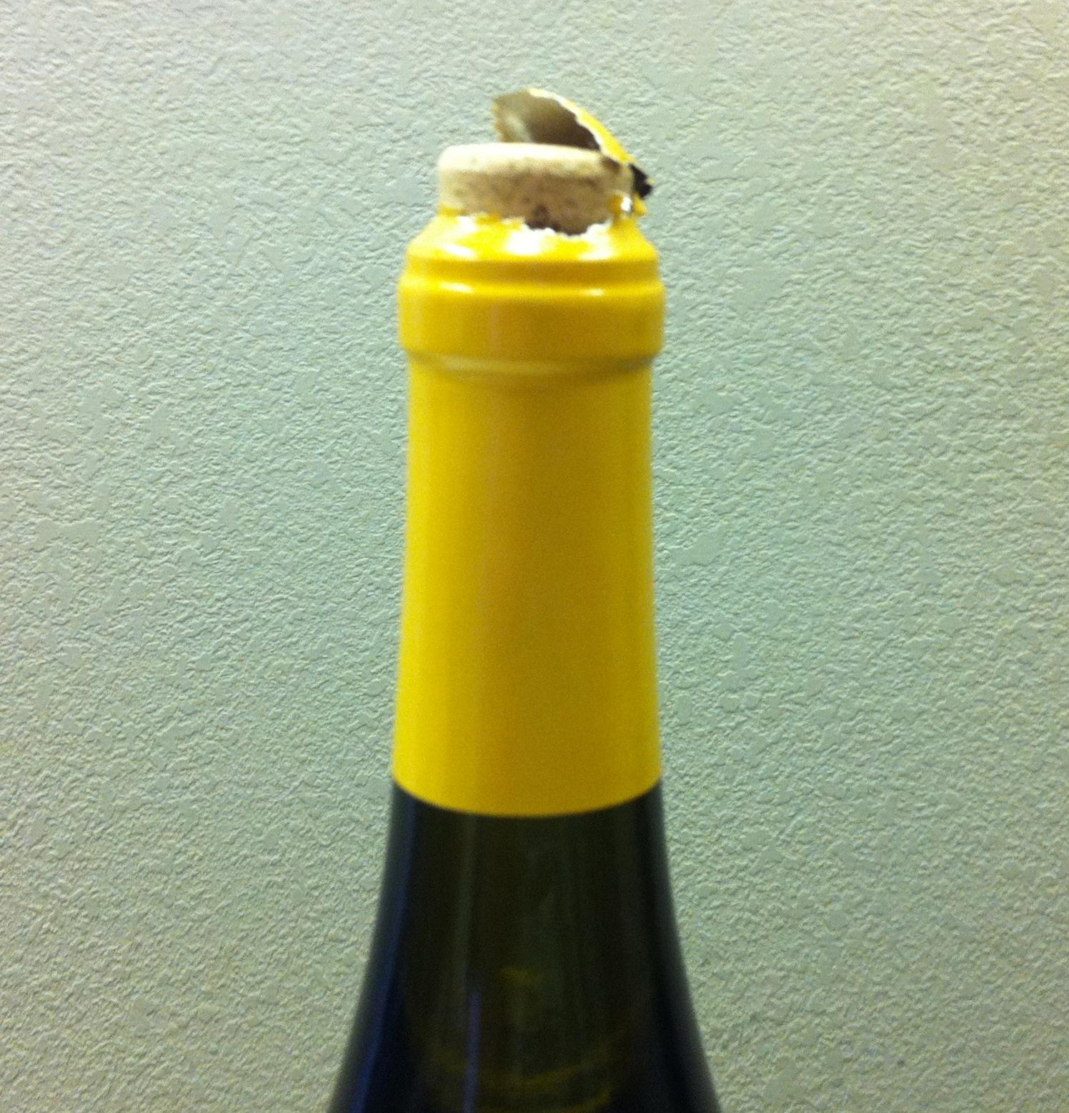 顶塞的葡萄酒