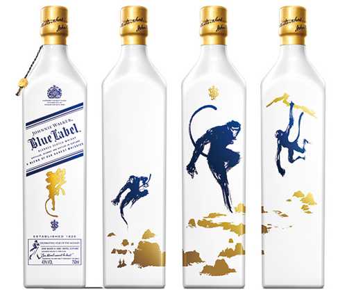 JOHNNIE WALKER Blue Label Year of the Monkey Scotch Whisky