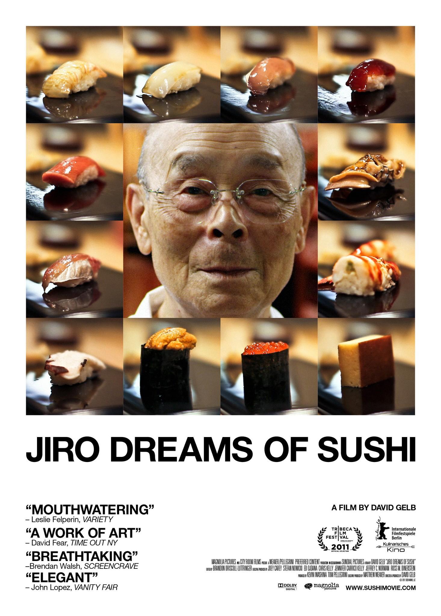 纪录片《二郎的寿司之梦》海报