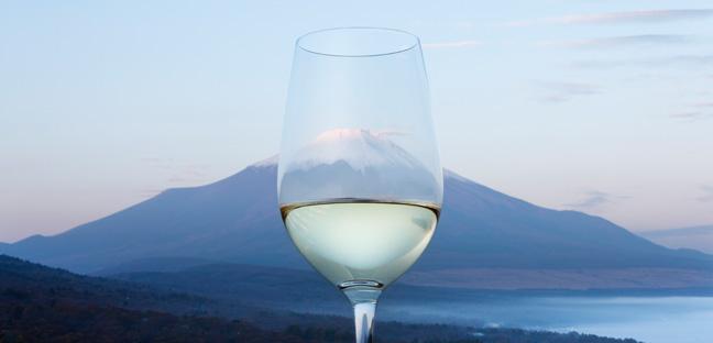 富士山脚下的山梨县甲州葡萄酒,来源:koshuofjapan