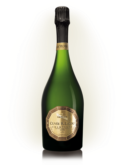 玛姆香槟最高端的雷内·拉露特酿(cuvée René Lalou)年份香槟,来源:Mumm