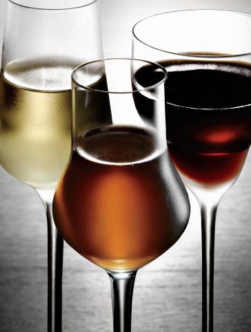 不同类型的雪莉酒呈现出不同的颜色和风格