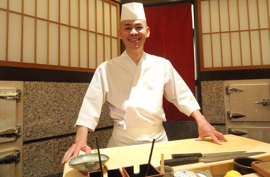 Sushi Saito 主厨 斋藤孝司