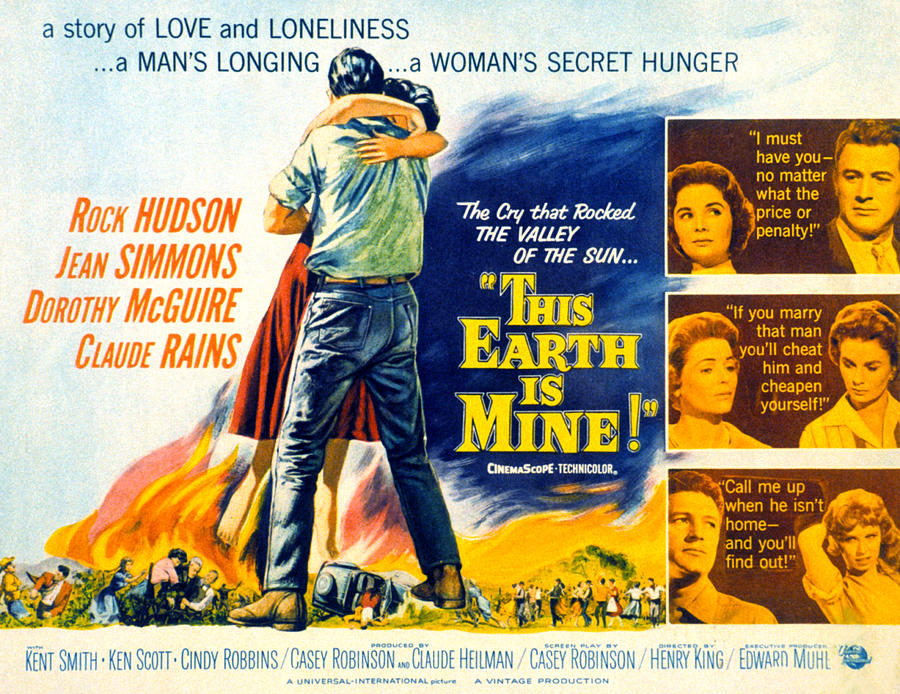 This Earth is Mine海报,主演:Rock Hudson,Jean Simmons