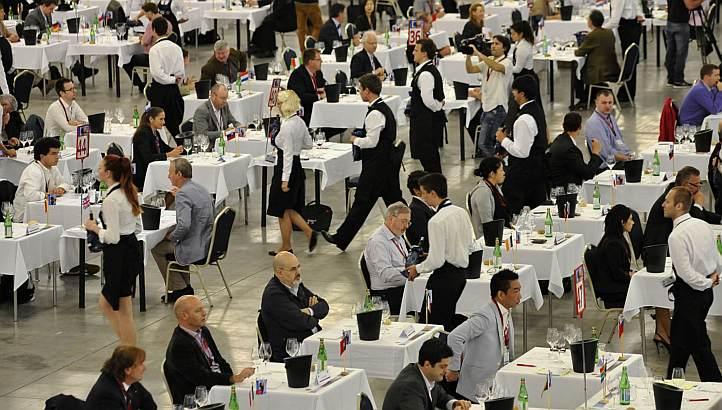今年5月在斯洛伐克举行的布鲁塞尔国际葡萄酒大赛,来源:AFP