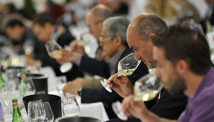 葡萄酒评比大赛上通常都云集了来自于全世界的评委,来源:AFP