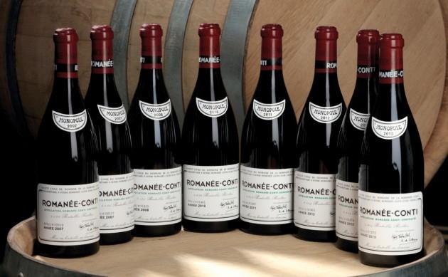 全球最贵10大葡萄酒榜单更新,康帝世界第一易主!